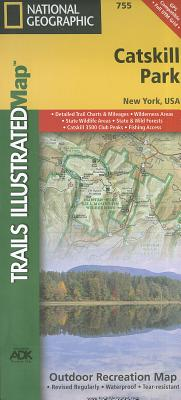 National Geographic Trails Illustrated Map Catskill Park
